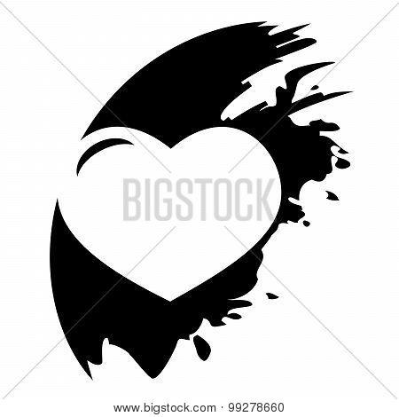 Vector Icon Isolated - Human Organ. Heart