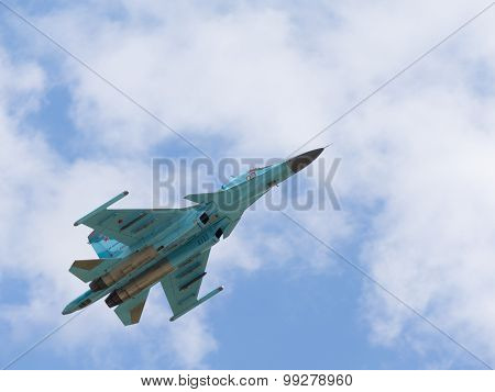 Russian Fighter-bomber Su-34