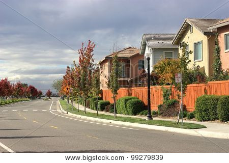 Row Of Houses