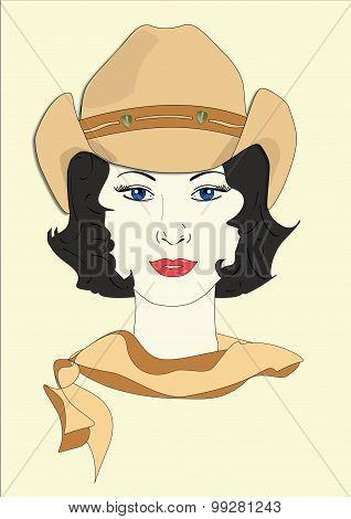 Millicent's Cowboy Hat