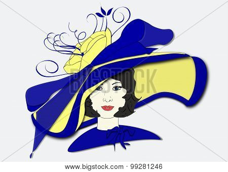 Millicent's Derby Day Hat