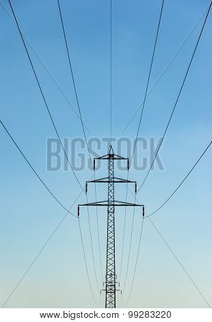 Powerlines In Summer