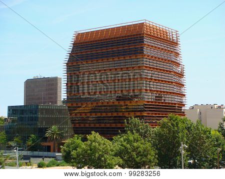 Big Building In Barcelona