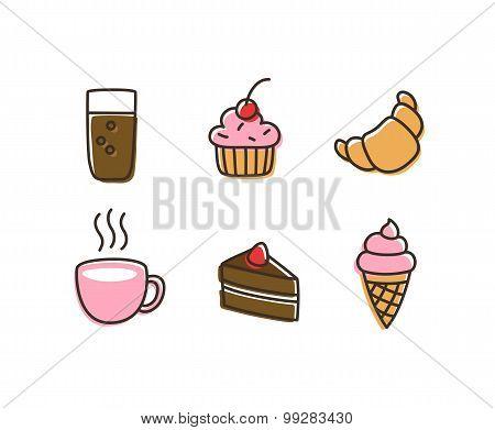 Desserts Icons
