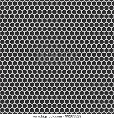 Metal Grill Seamless Pattern Background