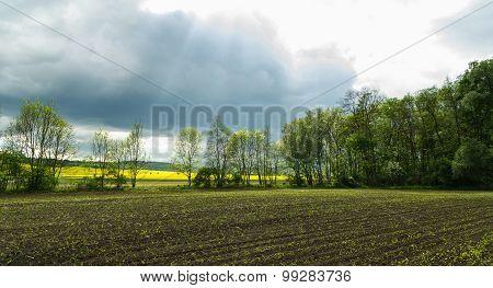 Stormy Spring Sky