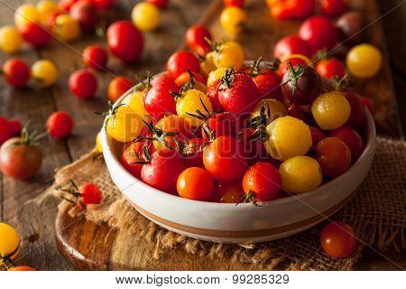 Organic Heirloom Cherry Tomatos