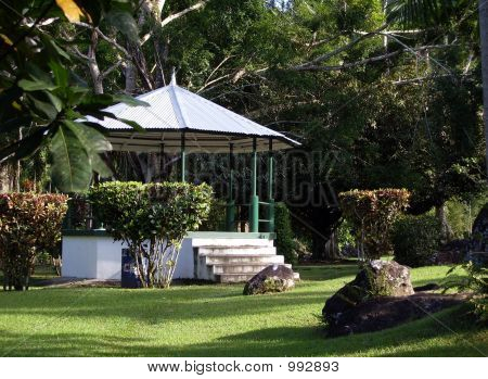 Tropical Gazebo.