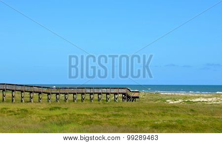 Beach bridge