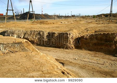 Industrielle Wüste