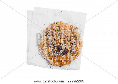 ants swarm Khao Ton, classic healthy Thai snack