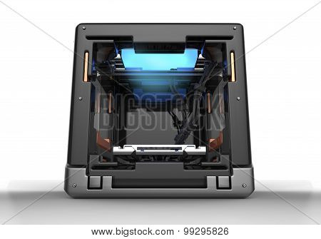 Conceptual Design Of  3D Printer With Clipping Path