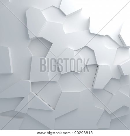 Shatter Pattern Abstract Background
