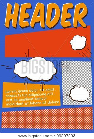 Comics Flayer Template