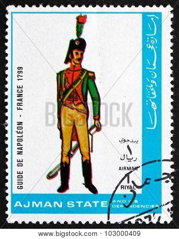 Postage Stamp Ajman 1972 Guide De Napoleon