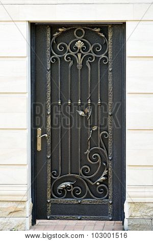 Decorative  Wrought  Door.