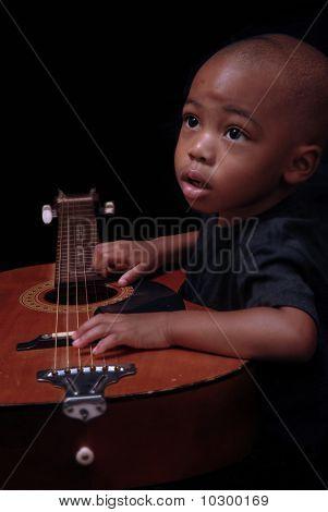 Chilld Enjoys The Guitar