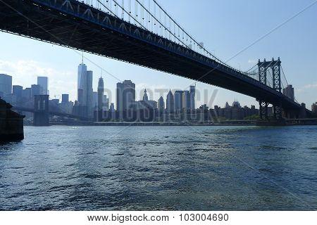 Manhattan Bridge and Manhattan