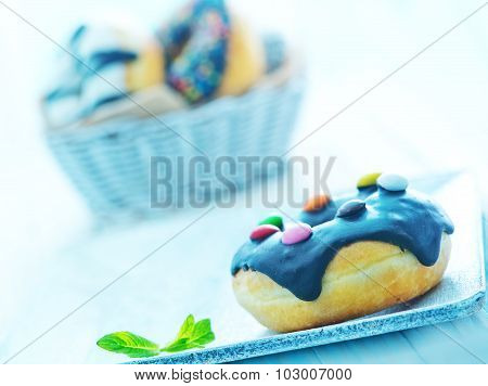 Donuts On Plate