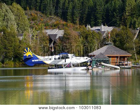 Whistler Air Base on Green Lake Whistler