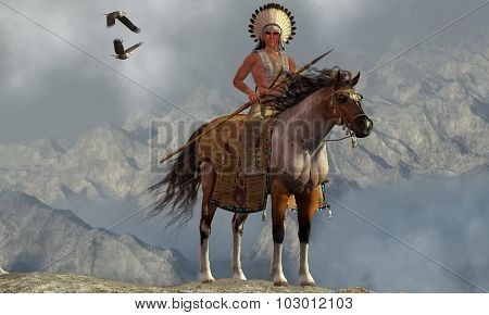 Indian Soaring Eagle