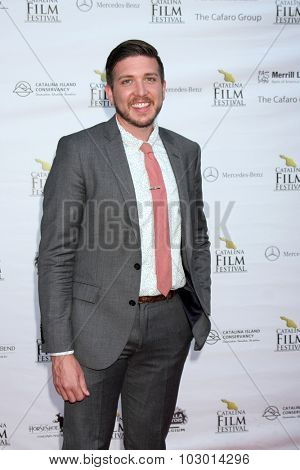 LOS ANGELES - SEP 26:  Jeremy Gibbs at the Catalina Film Festival Saturday Gala at the Avalon Theater on September 26, 2015 in Avalon, CA
