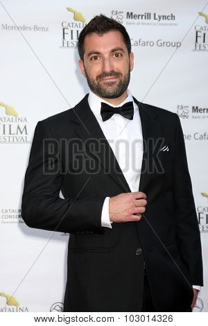 LOS ANGELES - SEP 26:  Frank Ferendo at the Catalina Film Festival Saturday Gala at the Avalon Theater on September 26, 2015 in Avalon, CA