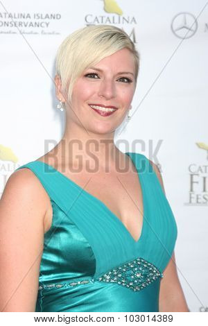 LOS ANGELES - SEP 26:  Kate Green at the Catalina Film Festival Saturday Gala at the Avalon Theater on September 26, 2015 in Avalon, CA