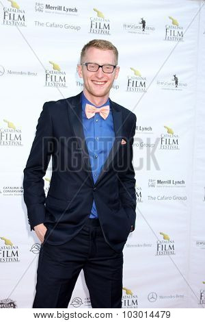 LOS ANGELES - SEP 26:  Eric McCoy at the Catalina Film Festival Saturday Gala at the Avalon Theater on September 26, 2015 in Avalon, CA
