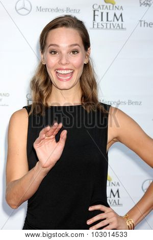 LOS ANGELES - SEP 26:  Bailey Noble at the Catalina Film Festival Saturday Gala at the Avalon Theater on September 26, 2015 in Avalon, CA