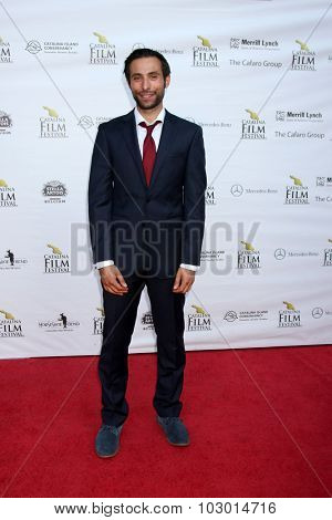 LOS ANGELES - SEP 26:  Mitch Lerner at the Catalina Film Festival Saturday Gala at the Avalon Theater on September 26, 2015 in Avalon, CA