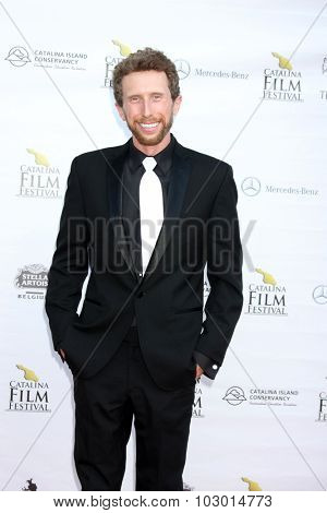 LOS ANGELES - SEP 26:  Luke Patton at the Catalina Film Festival Saturday Gala at the Avalon Theater on September 26, 2015 in Avalon, CA