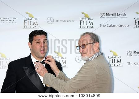 LOS ANGELES - SEP 26:  Ron Truppa, Robert Englund at the Catalina Film Festival Saturday Gala at the Avalon Theater on September 26, 2015 in Avalon, CA