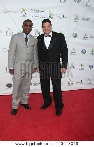 LOS ANGELES - SEP 26:  Delious Kennedy, Ron Truppa at the Catalina Film Festival Saturday Gala at the Avalon Theater on September 26, 2015 in Avalon, CA