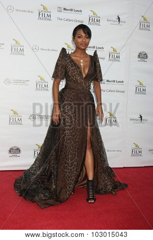 LOS ANGELES - SEP 26:  Scytorya Rhodes at the Catalina Film Festival Saturday Gala at the Avalon Theater on September 26, 2015 in Avalon, CA