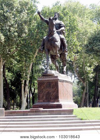 Tashkent The Amir Temur Monument 2007