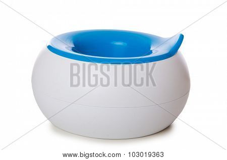 Potty isolated on the white background