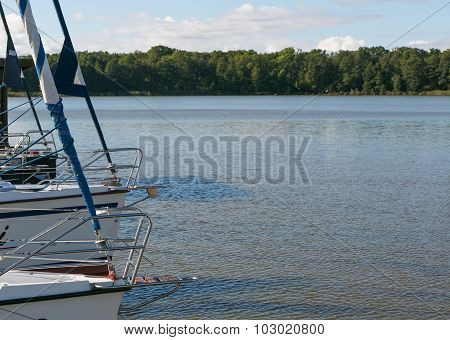 Beutiful Lake Photographed From Yacht