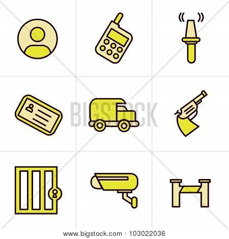 Icons Style Icons Style  Security Icons