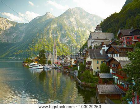 Hallstatt mountain village