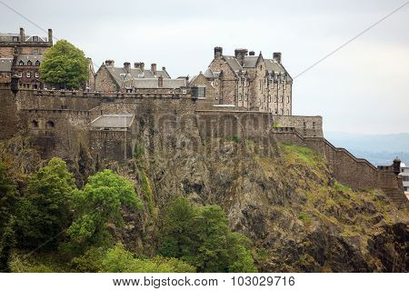 the Edinburgh Castle Scotland GB