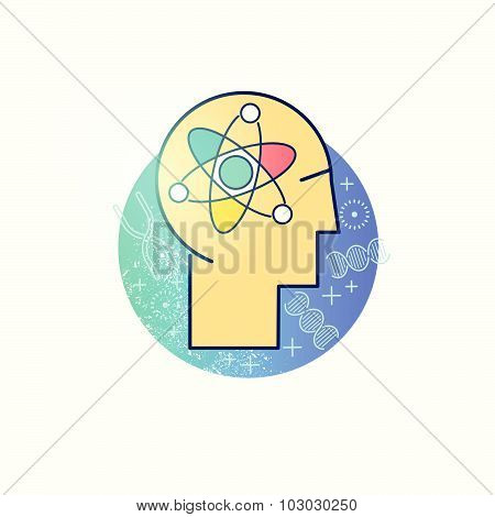 Scientist Vector Icon