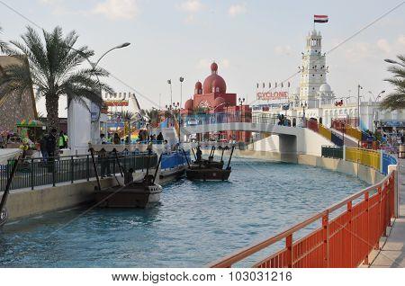 Pavilions at Global Village in Dubai, UAE
