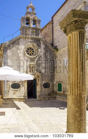 St Michaels Church, Korcula