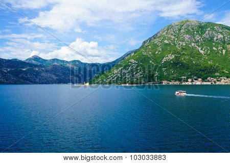 Bay Of Kotor, With The Islands