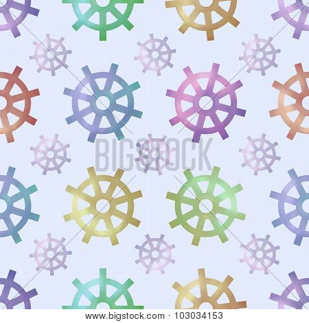 Vector Seamless Pattern With Helms