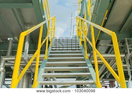 Stair Steel For Heavy Industrial.