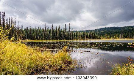 Little McGillivray Lake in the Shuswap Highlands
