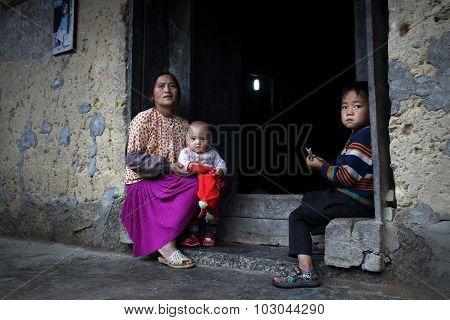 Hmong Family