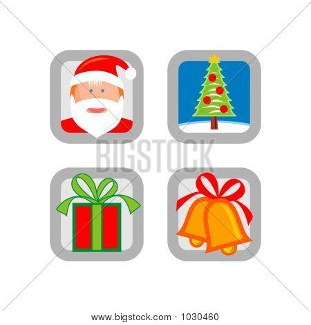Christmas: Icon Set 08 - Version 2